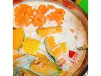 蔬食暖暖牛奶鍋(蛋奶素/無肉料理)