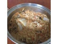 辛拉麵泡菜牛奶鍋