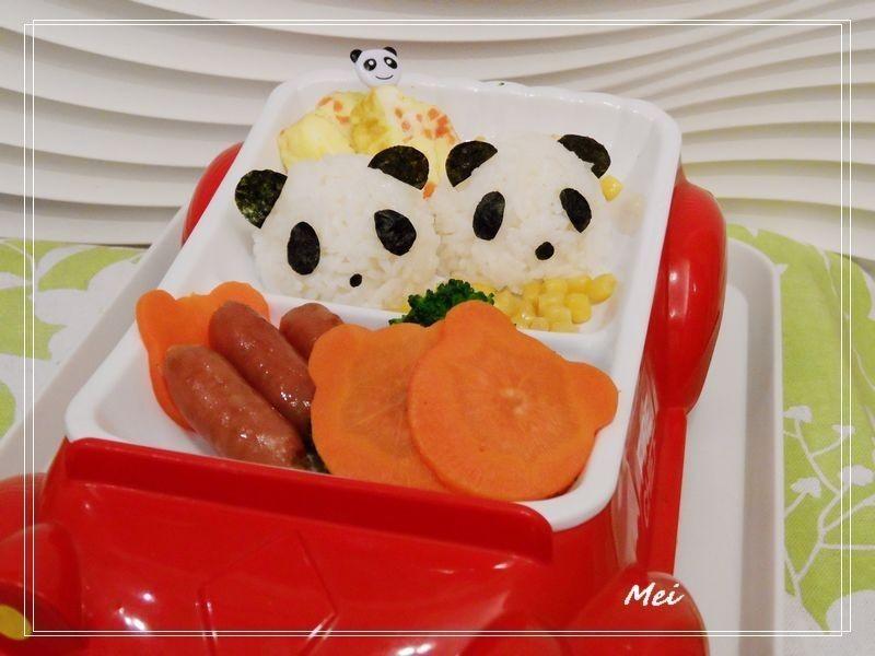 【親子食堂】熊貓飯飯