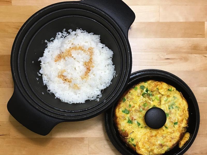 古早味衛稻白米+菜脯烘蛋