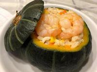 南瓜海鮮豆腐起司燉飯[寶寶食譜]家常菜