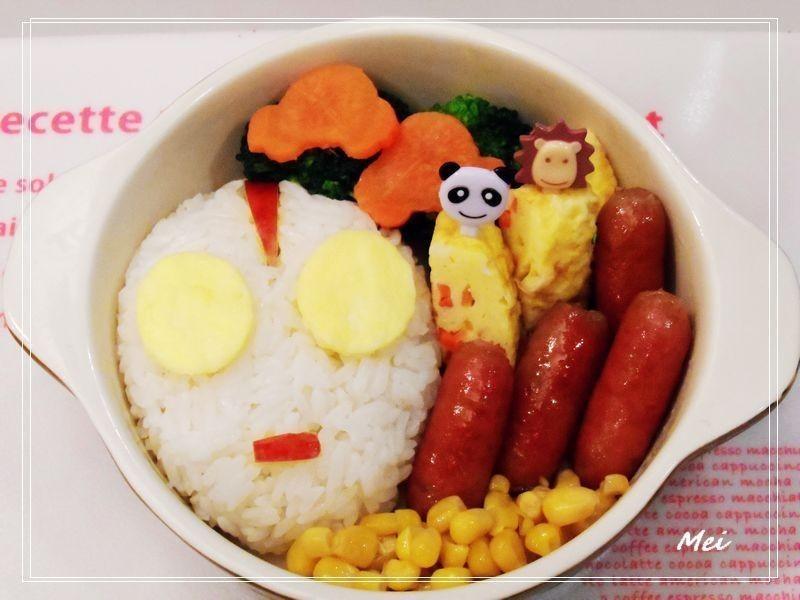 【親子食堂】鹹蛋超人飯飯