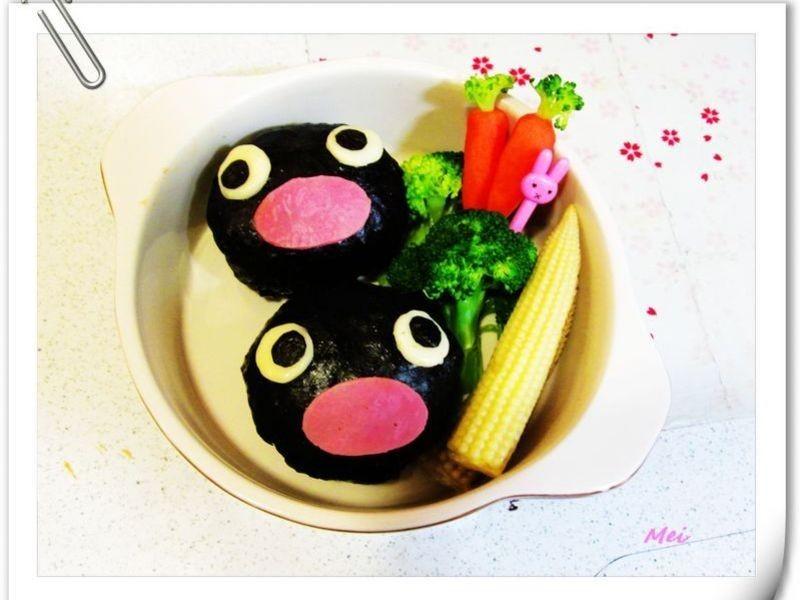 【親子食堂】企鵝家族飯丸