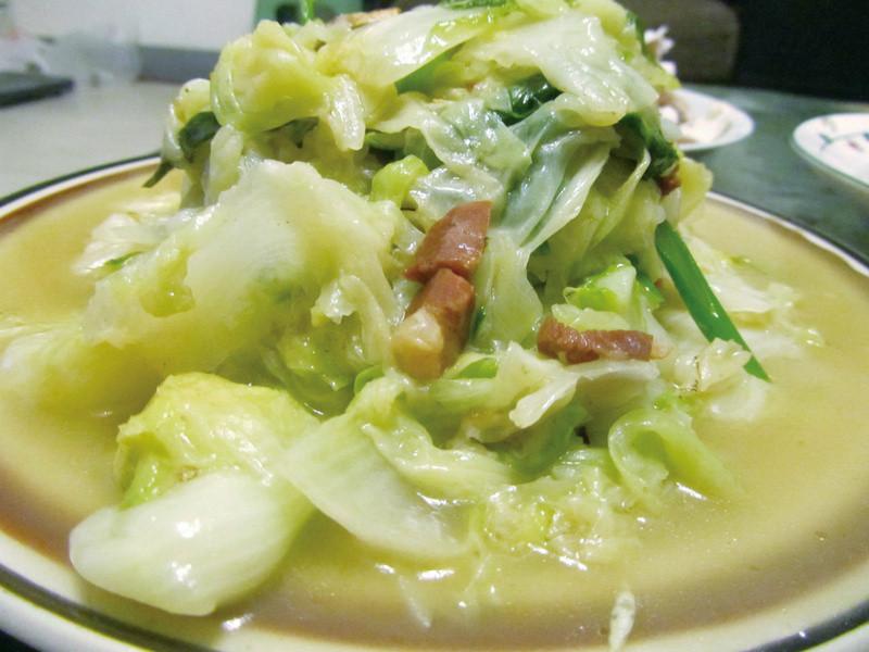 金華火腿煨白菜