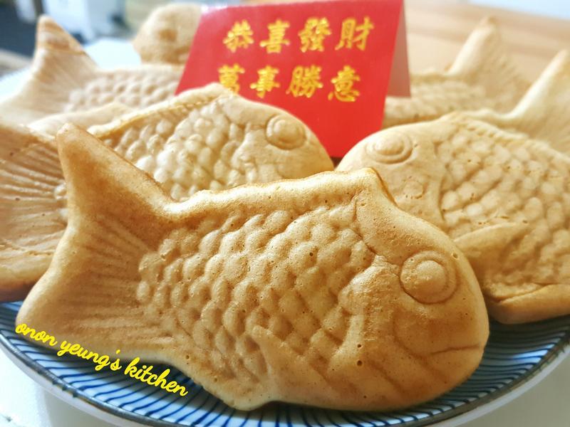 過年篇の年糕鯛魚燒