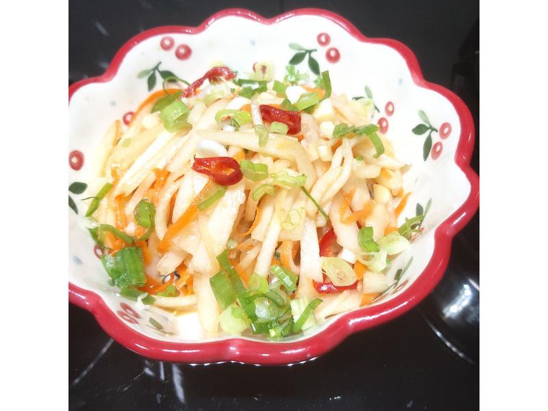 低卡~涼拌大頭菜