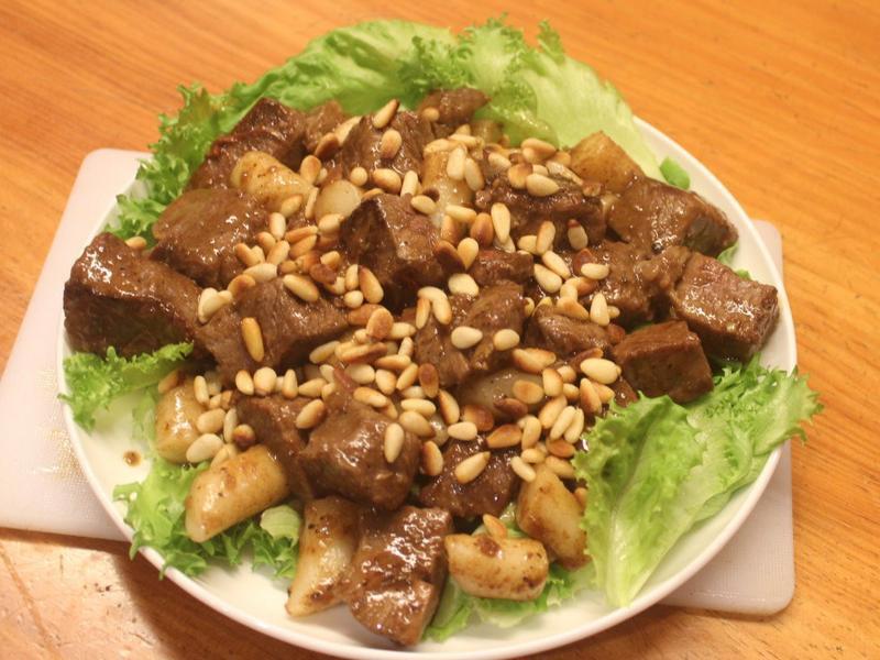 松子年糕牛肉
