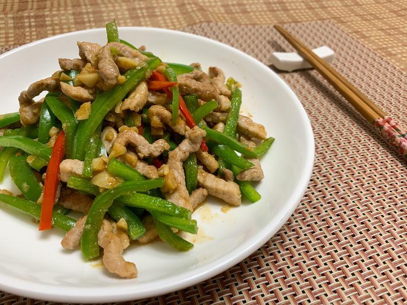 #12 青椒炒肉絲