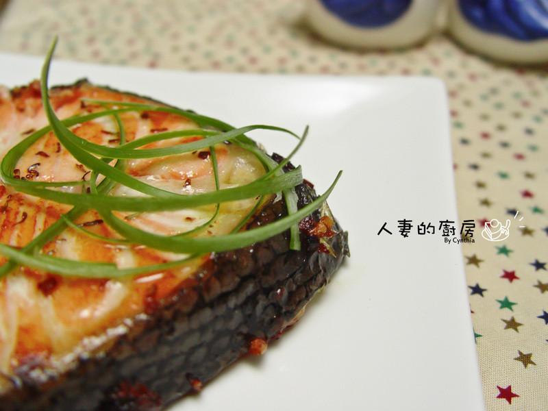 香煎奶油鮭魚