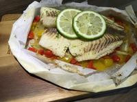 檸檬紙包魚
