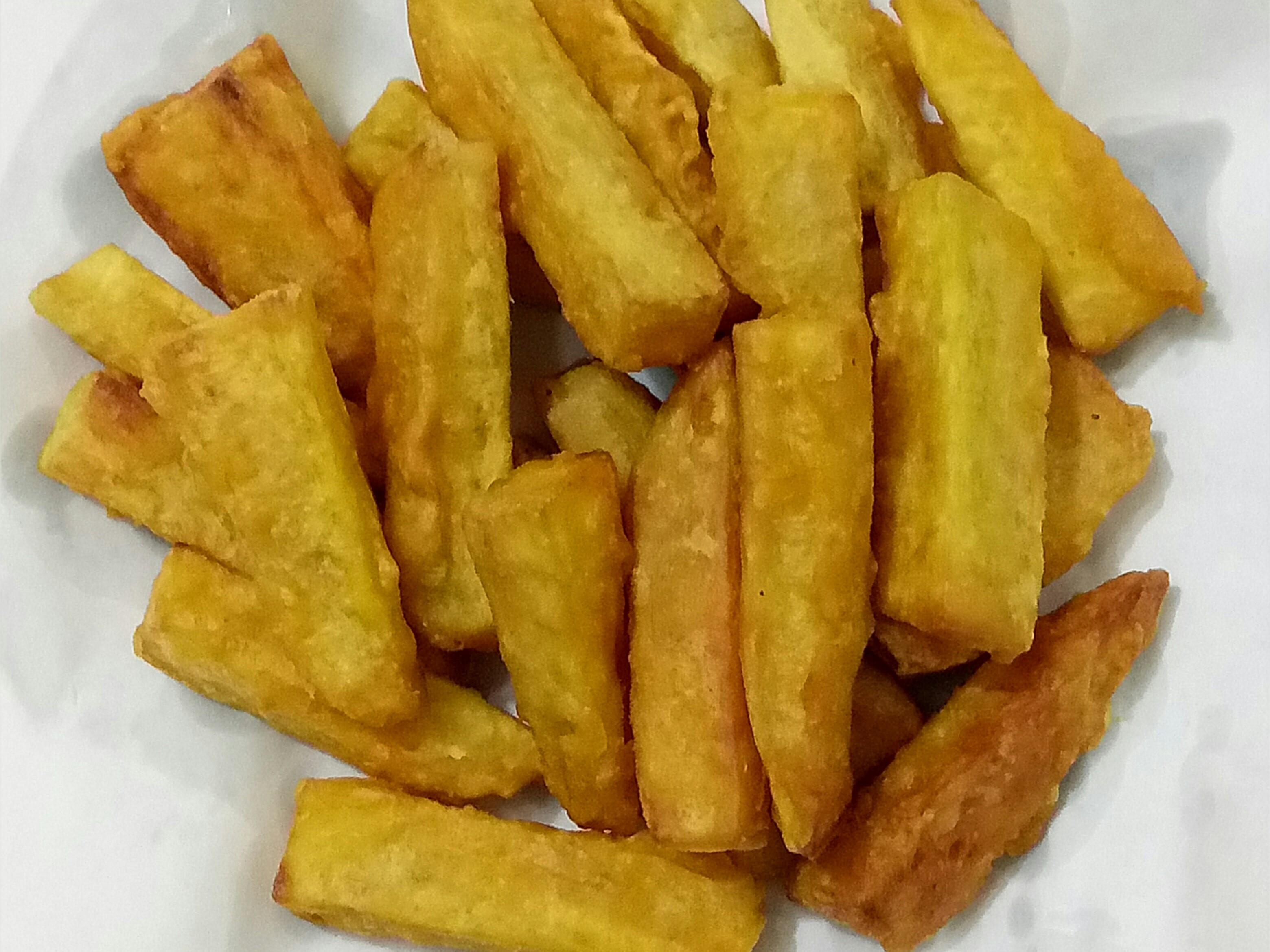 酥炸金黃地瓜條(甘梅薯條)