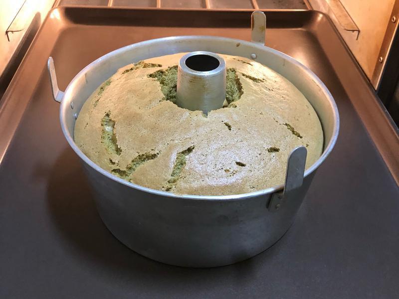 宇治抹茶戚風蛋糕