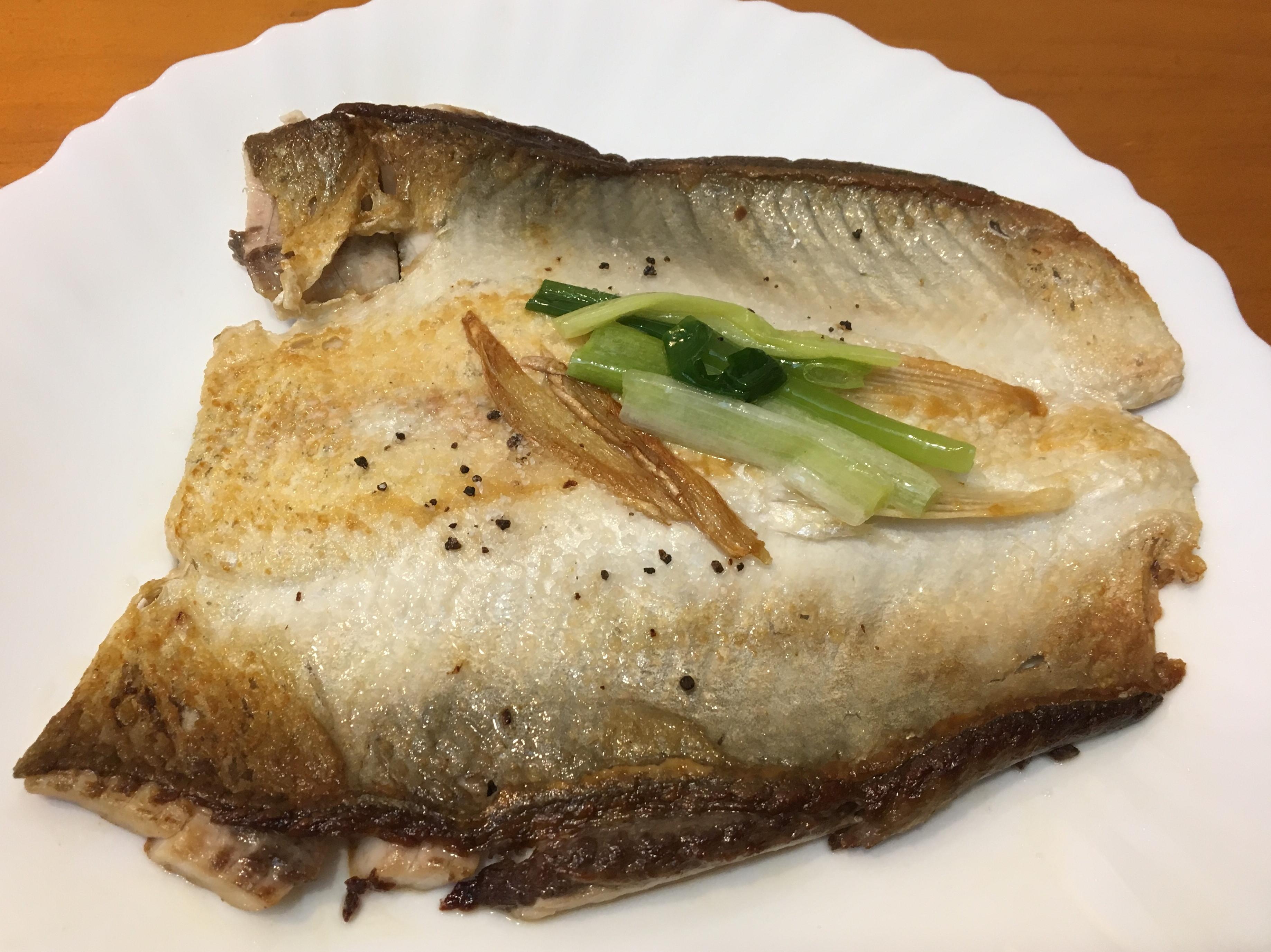 乾煎松露鹽司目魚