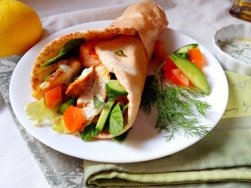 Gyro-希臘式雞肉沙威瑪