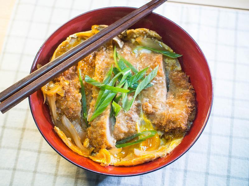 日式豬排丼