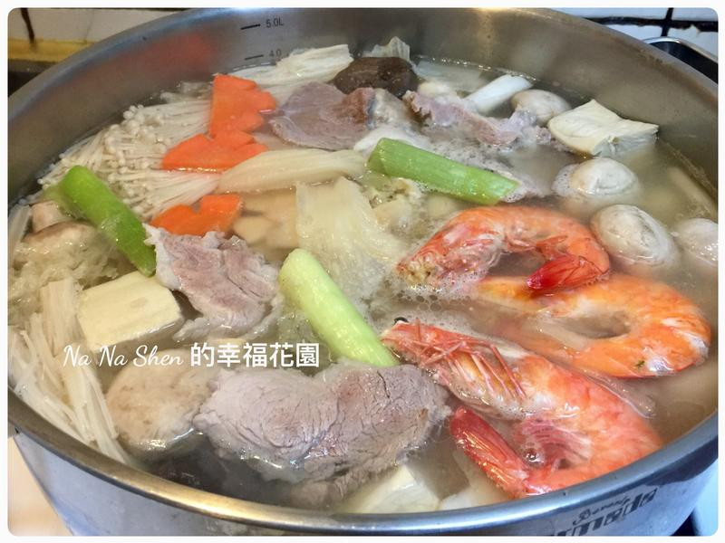酸白菜肉片湯