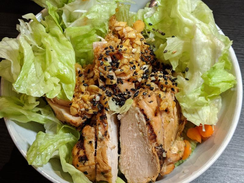 雞肉Asian沙拉