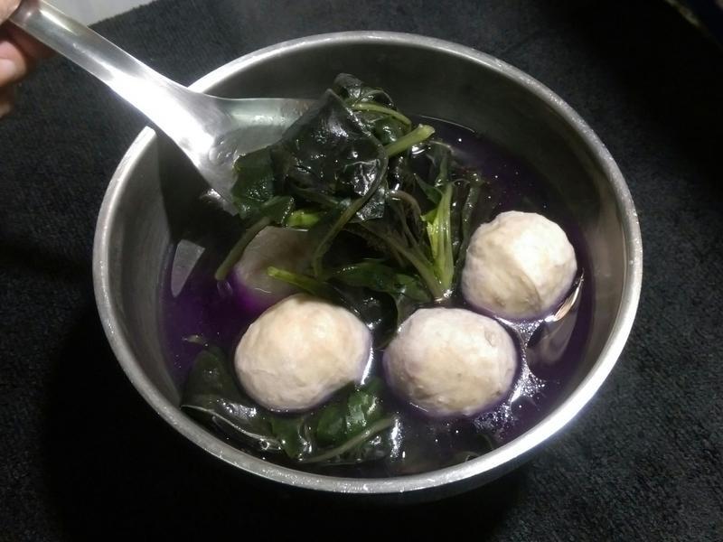紅鳳菜貢丸湯