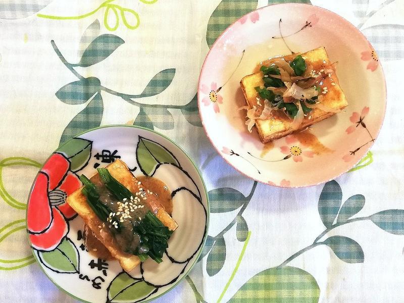 《胡麻醬》和風胡麻醬燒豆腐~快速