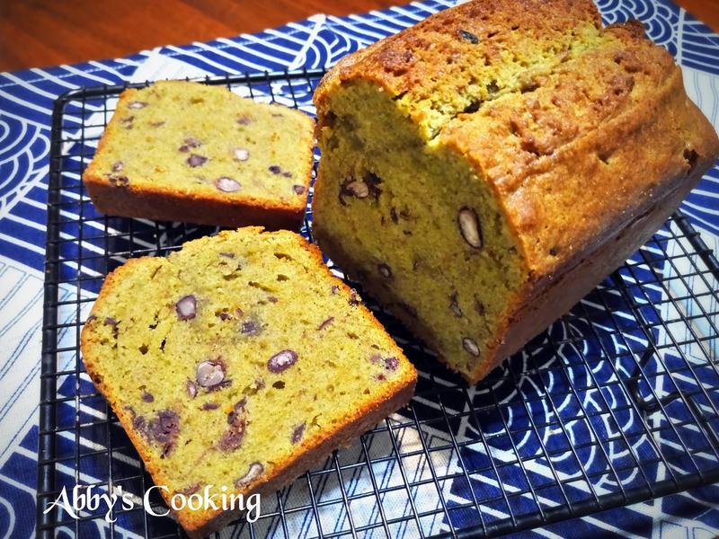 抹茶蜜紅豆磅蛋糕