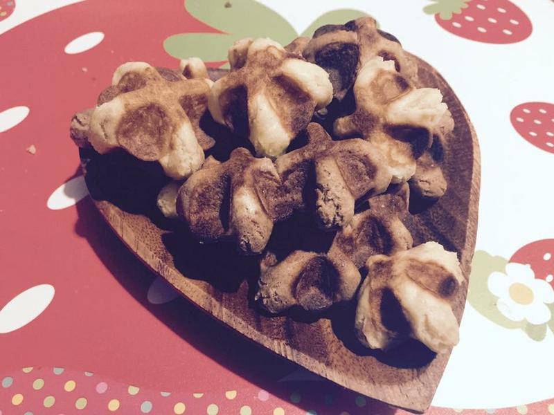 《甜蜜蜜》情人節快樂 酥脆一口鬆餅酥