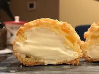 卡士達鮮奶油餡-原味餅乾泡芙餡料