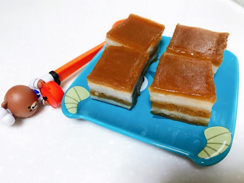 黑糖椰汁千層糕(無麩質)