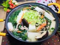 蘿蔔糕山萵苣鹹湯
