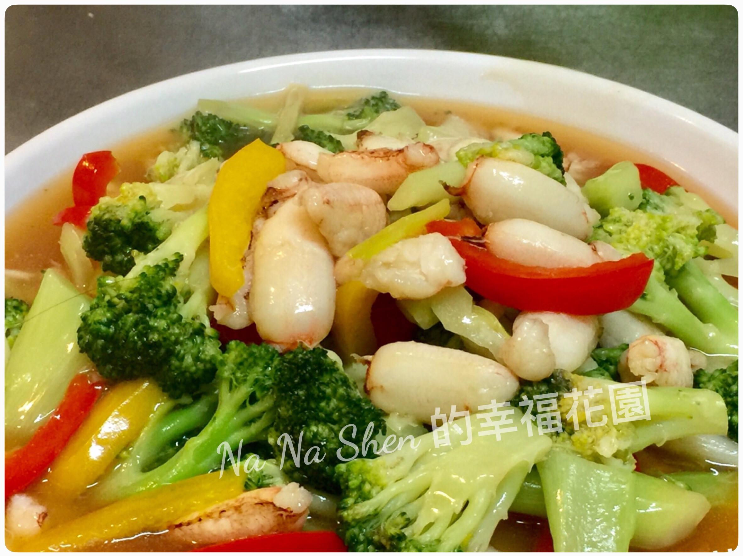 青花菜蟹肉羹