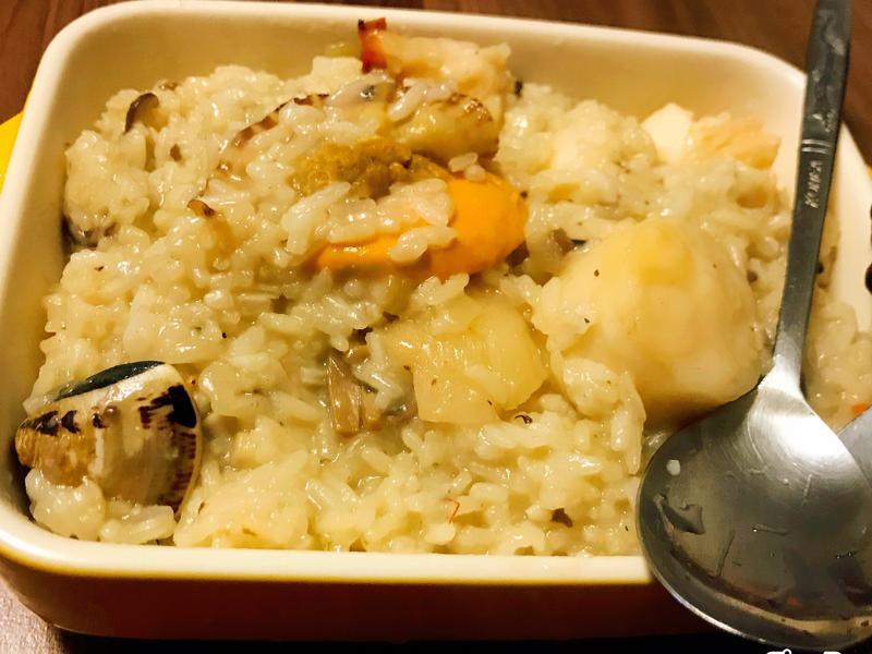 松露龍蝦海鮮燉飯