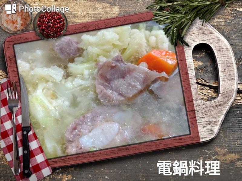 花椰菜排骨湯