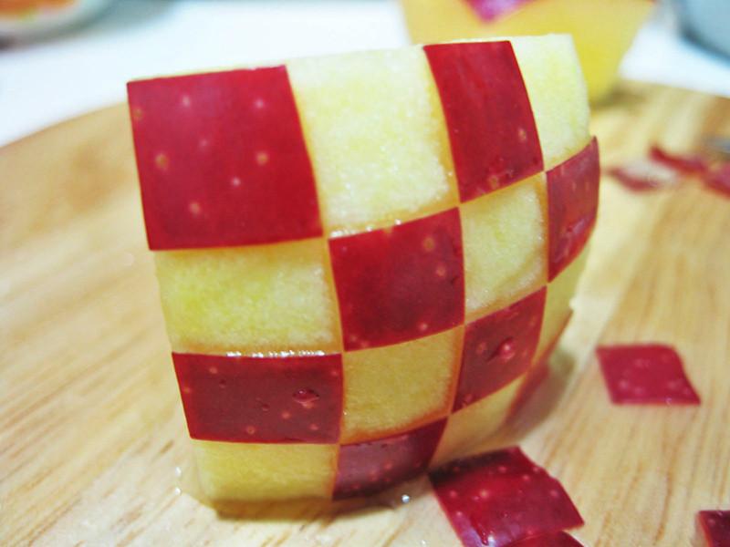 簡易蘋果雕飾法