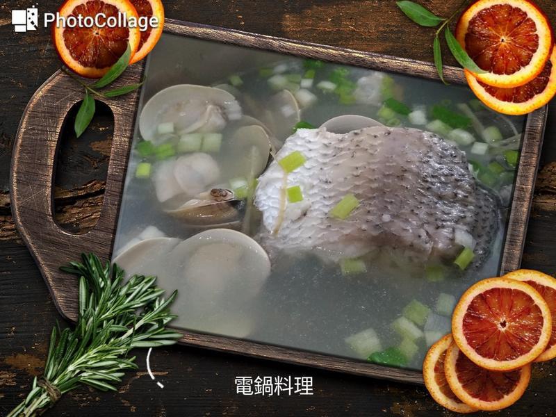 蛤蜊鱸魚湯