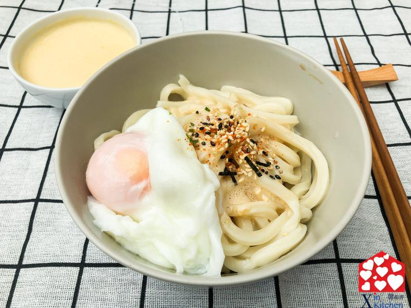 自製日式胡麻醬及烏龍麵