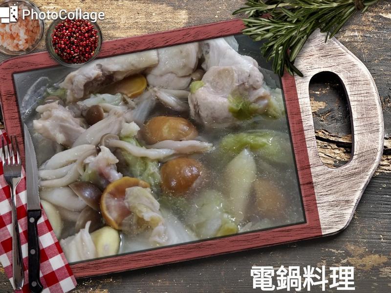 栗子白菜雞湯