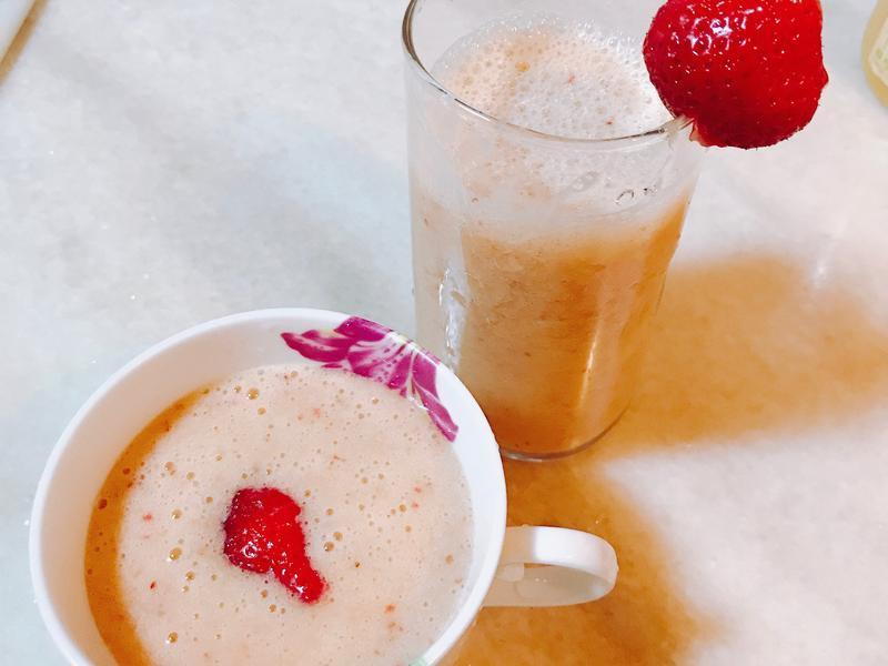 草莓香蕉柳橙汁