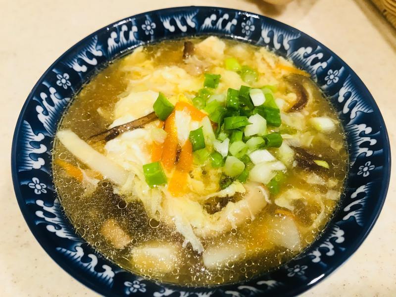 簡易美味酸辣湯 廚房的旋律