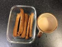 奶油酥條與鍋煮奶茶