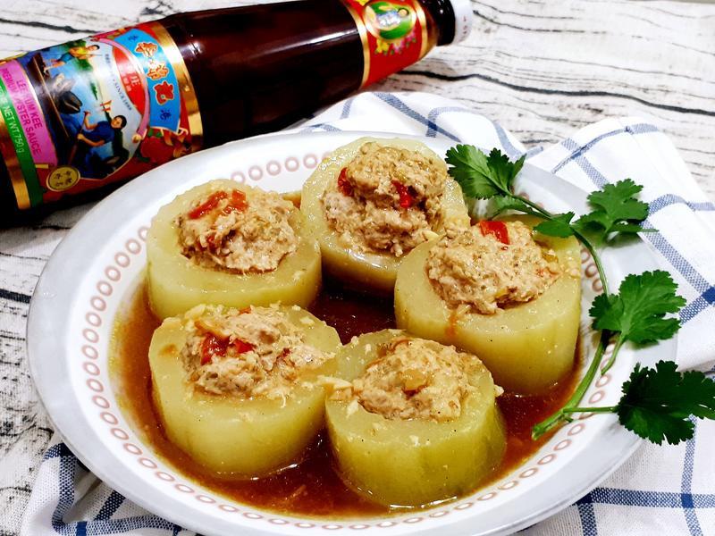 黃瓜鑲酸刺瓜絞肉