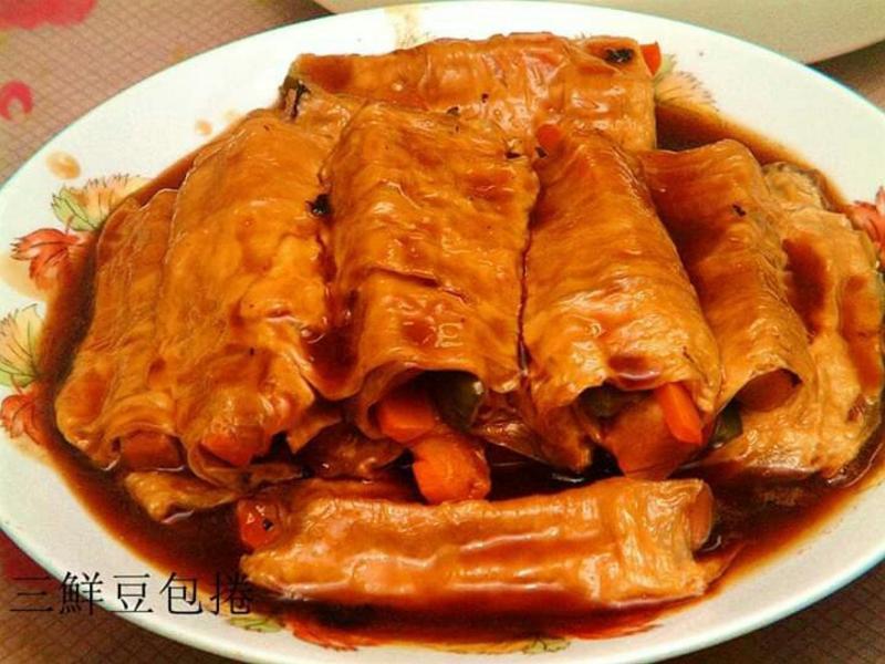 三鮮豆包卷