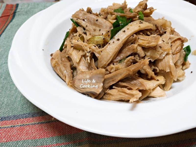 【家常菜】清炒雞絲