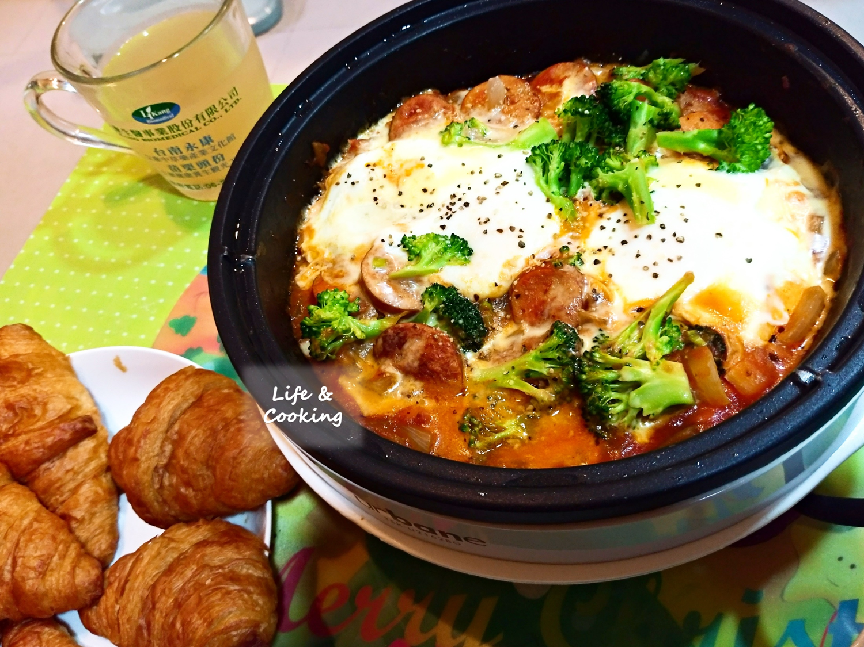 【早午餐】臘腸地獄蛋
