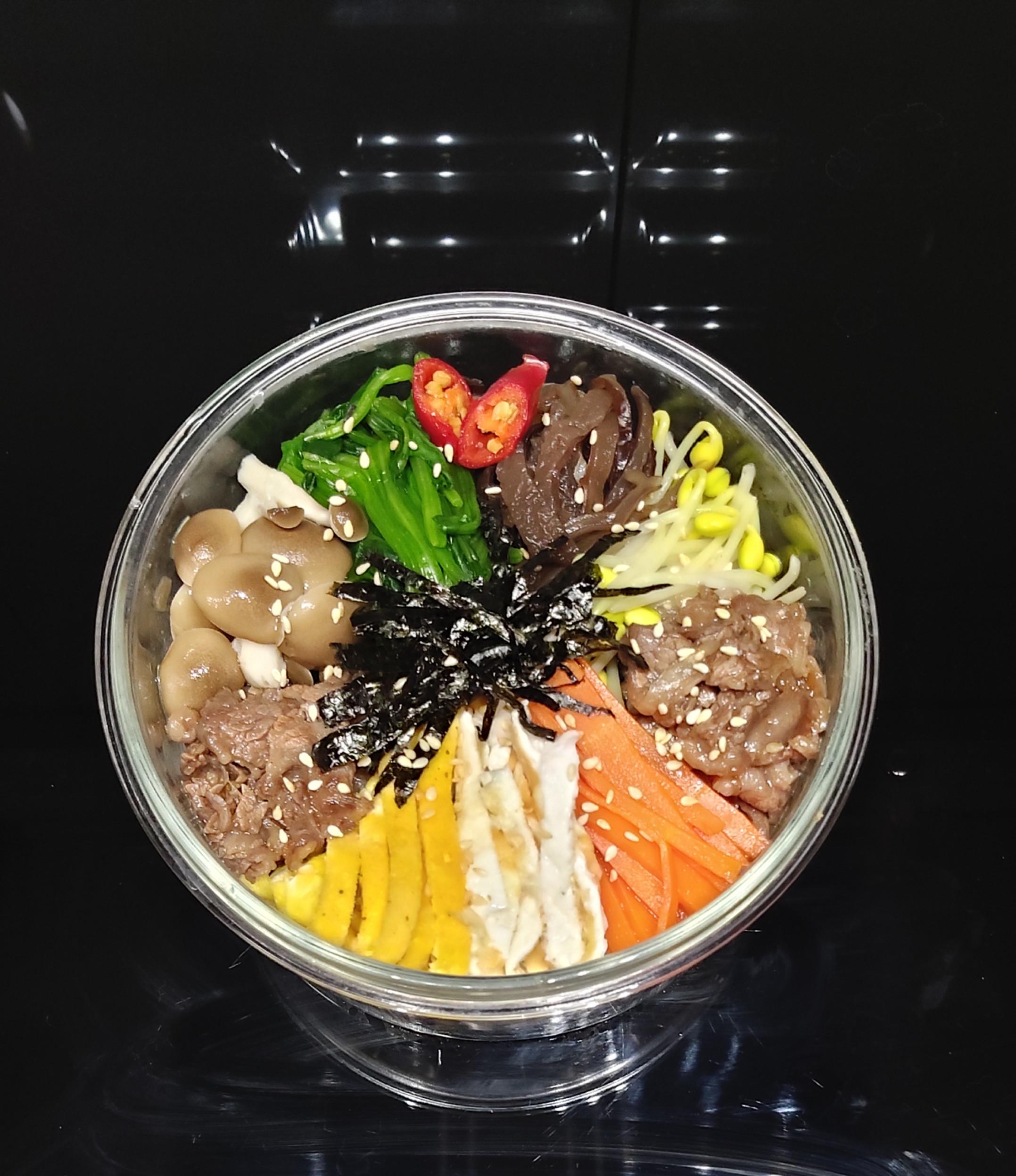 減脂~韓式拌飯便當