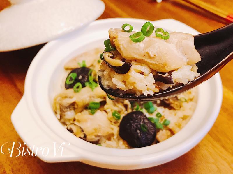 [電鍋] 簡易一鍋料理-北菇滑雞蒸飯