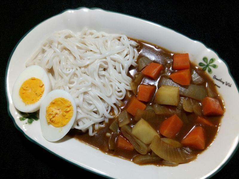 爪哇咖哩蛋麵