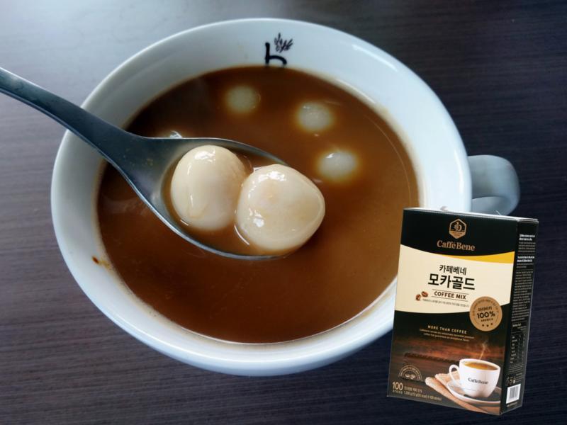 摩卡咖啡小湯圓
