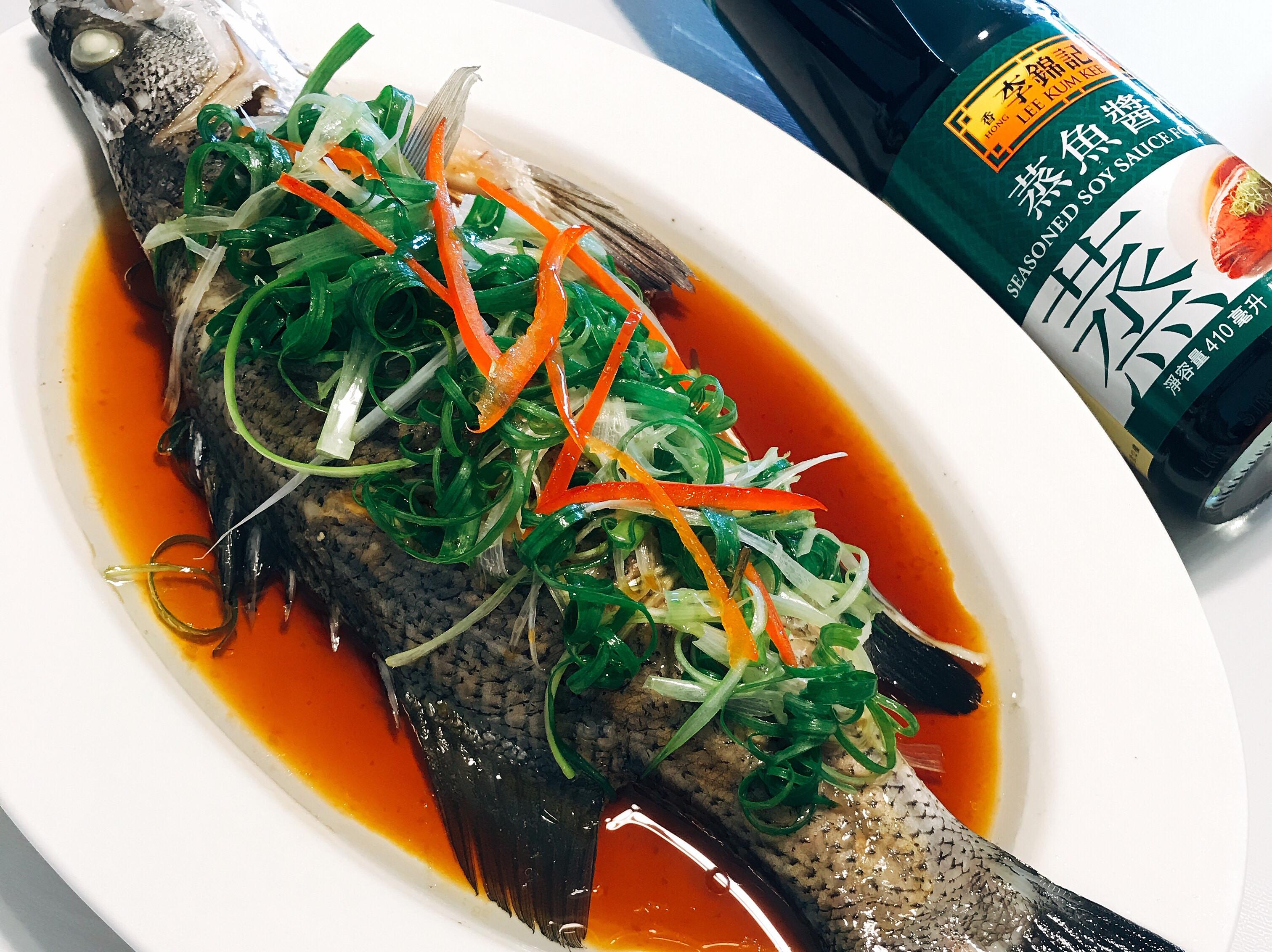 李錦記蒸魚醬油之清蒸鱸魚
