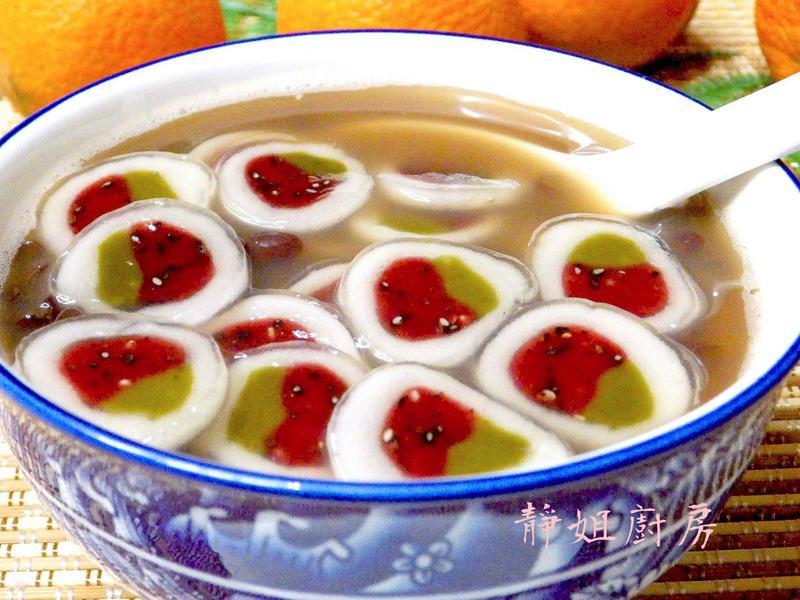 創意料理~草莓脆圓