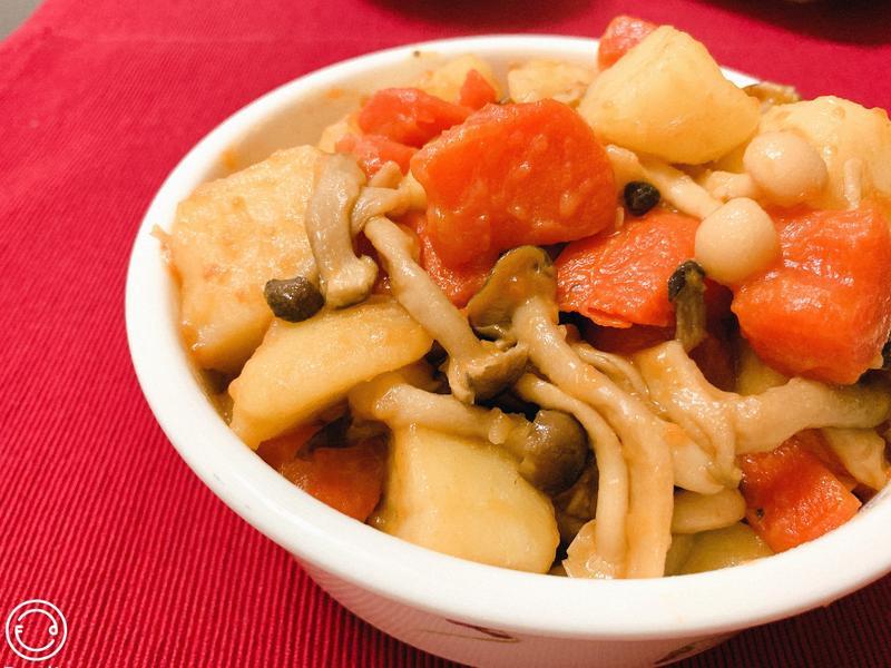 菇菇香燉馬鈴薯