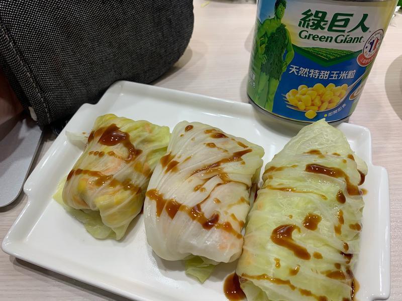 高麗菜玉米卷